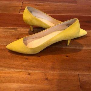 NW 'Xeena' yellow kitten heel